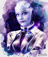 Liara in Stars by Razz8