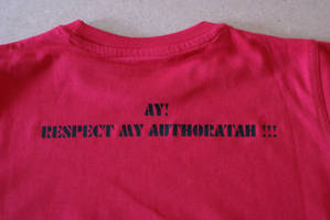 Respect my authoratah by alexanderhristov