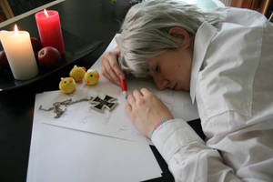 APH - Sleeping on the job? by FlyingGreyson