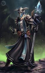 [CM] Majestic Necromancer by bearcub