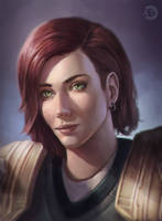 [CM] World Of Warcraft Portrait by bearcub