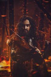 Thorin  Oakenshield: Fire by Eternal-Jesus