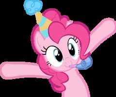 Pinkie Pie Vector by Lisosaurus