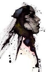 Ink portrait 01 by gmdawid
