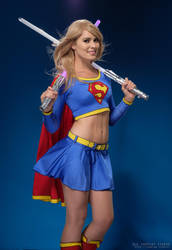 Supergirl lightsabers by Rinaca-Cosplay