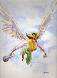 Hawkgirl by gmckee