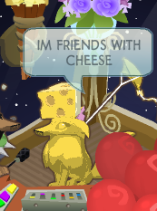 YOU ARE CHEESE by VirtualRenegade
