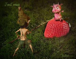 Fruit wars by Ranlinde