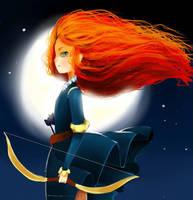 Brave   Merida (LIVESTREAM REDO) by blu-ion
