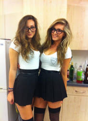 two nerdy dorm girls dominate you by Austinrose78