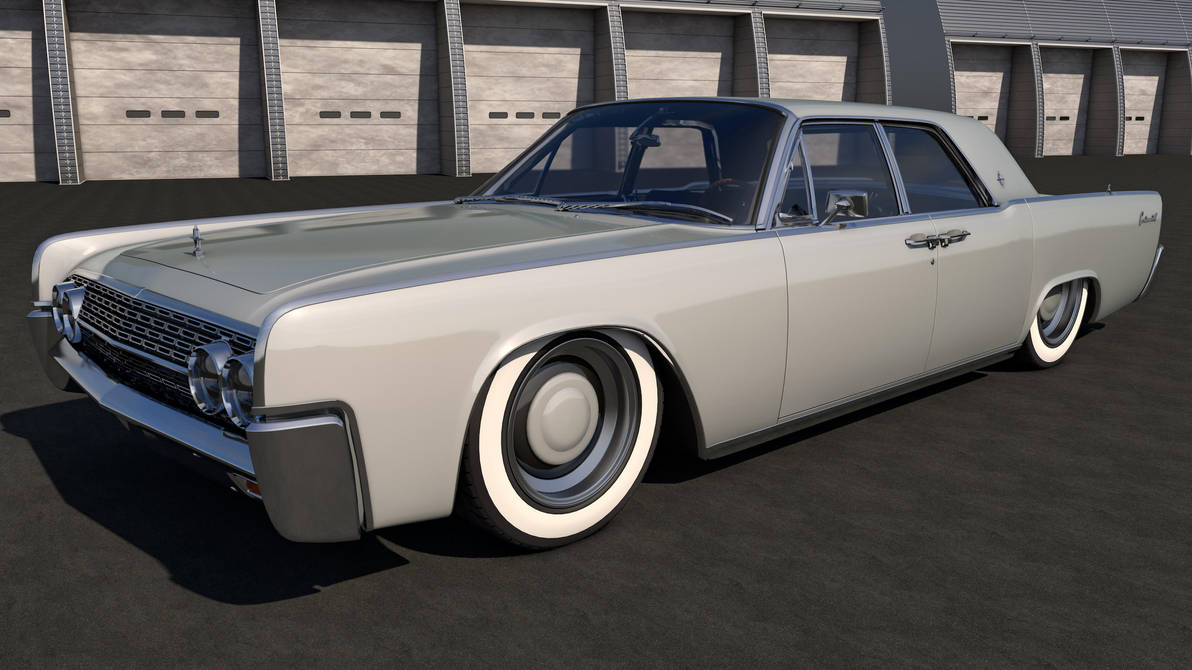 1962 Lincoln Continental by SamCurry