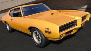 1969 Pontiac GTO by SamCurry