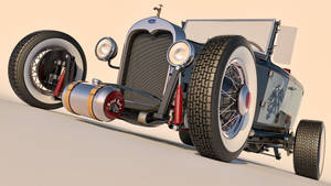 1930 Ford Model A Rod by SamCurry