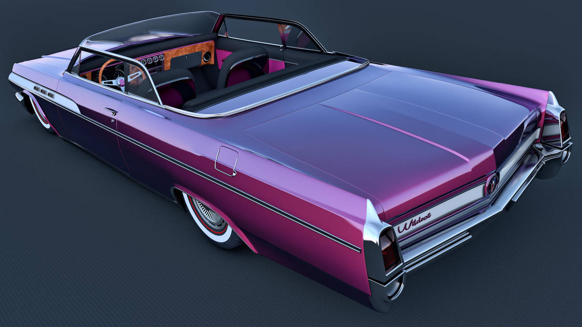 1963 Buick Wildcat Mk1 Convertible By Samcurry On Deviantart Car Pictures
