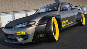 Nissan Silvia S15 Rocket Bunny by SamCurry