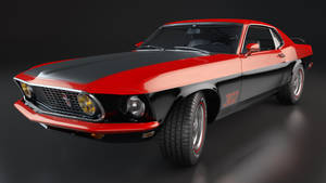 1969 Ford Mustang Boss 302 by SamCurry