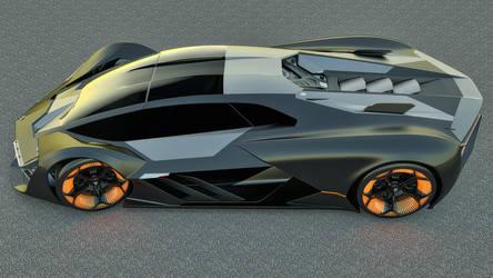 2017 Lamborghini Terzo Millennio Concept by SamCurry