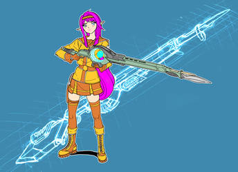 Rifle Mage by we-r-nomad