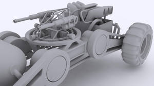 This is my ride WIP clay rende by Cnopicilin