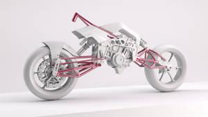 Bimota Tesi 3D WIP by Cnopicilin