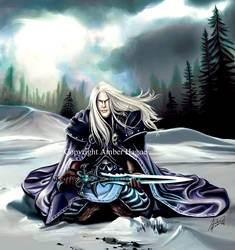 Arthas from Warcraft by AHague