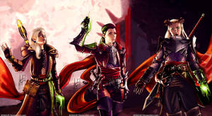 Dragon Age Inquisition - Three Inquisitors by AHague