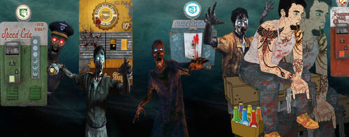 My blk ops 2 Zombie Nightmare by DeepXC