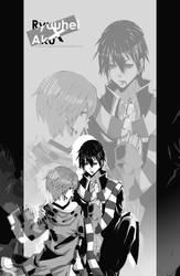 commission.:ryuuhei X aku:. by CottonCandyStar