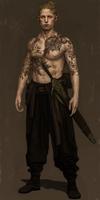 Male Bladesinger by Unilt