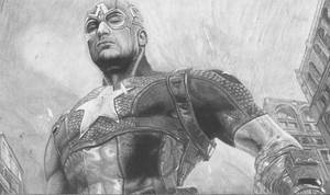 Chris Evans Captain America Avengers by ShayneMurphy