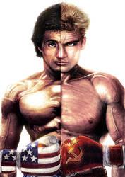 Rocky Balboa Vs Ivan Drago by ShayneMurphy