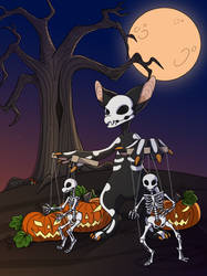 Skeleton Fornlee DTA - Puppet Master by Stygma