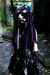 Purple Infection - I - Cybergoth by Nephelith
