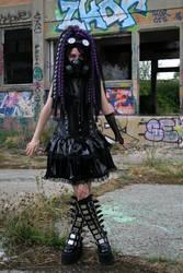 Purple Infection - II - Cybergoth by Nephelith