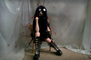 Purple Infection - VII - Cybergoth by Nephelith