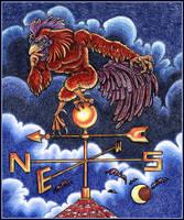The Dark Chicken by resa-challender