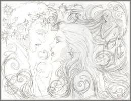 TWLT Sketch 4 Twilight Print by resa-challender