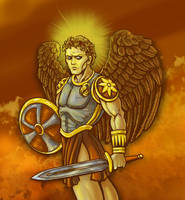 The Archangel Michael by resa-challender