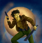 Sheriff Jody Mills from SUPERNATURAL by resa-challender