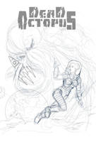 WIP -- Cover to Horror Anthology Graphic Novel by resa-challender