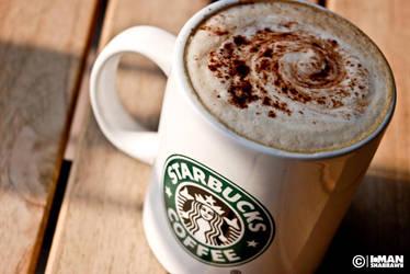 Star Bucks - Cafe Latte by shabrawyz