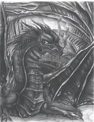 Black Dragon by Tsyris
