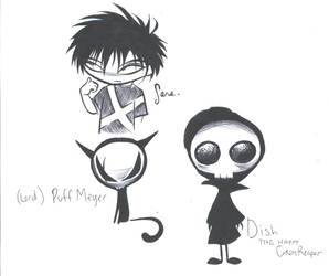 Happy Grim Reaper Characters 1 by Tsyris