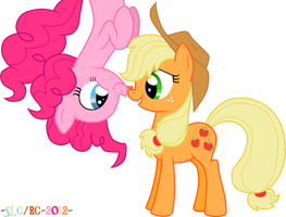 Pinks and AJ by StupidLittleCreature