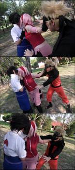 Sasuke X Sakura X Naruto Cosplay By Nao Dignity On Deviantart