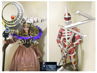Rita Repulsa And Lord Zedd Cosplay by Nao-Dignity