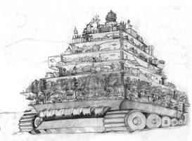 Traction City: London - Sketch by Patty1234