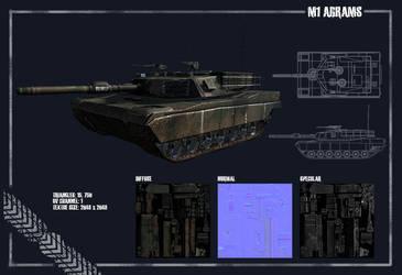 M1 Abrams by KrimzonDestiny