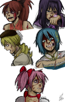Blood, bruises and despair by neezan