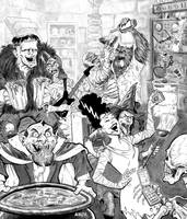 Monster Party by Dave-Acosta